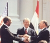 Les accords de Camp David: Anouar el-Sadate, Jimmy Carter et Menachem Begin