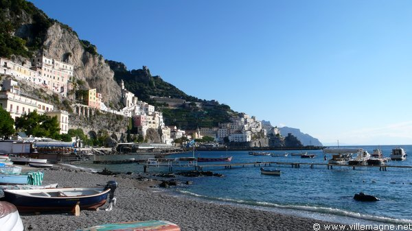 Le port d'Amalfi